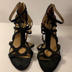 Nine West Black Sandals Women's Size 10